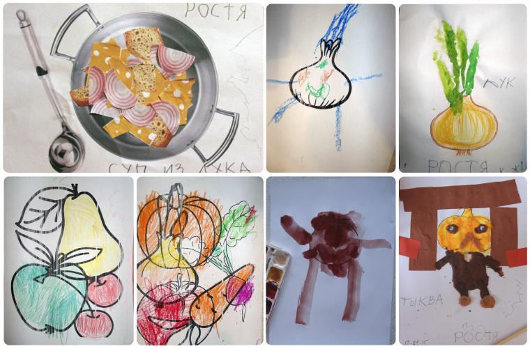 детские рисунки и поделки