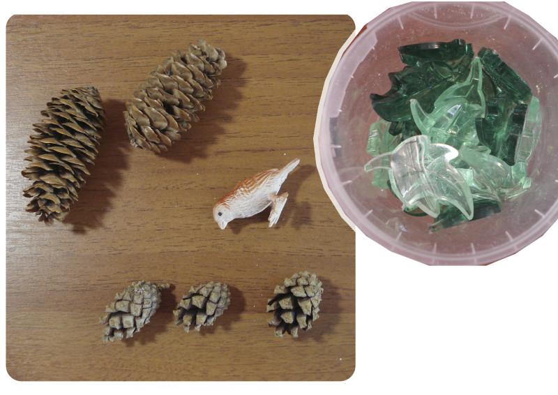 игры с песком деревья