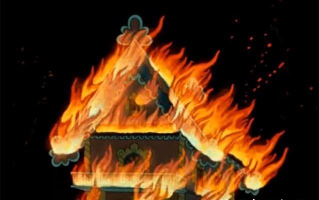 кошкин дом пожар - тематическое занятие с малышами
