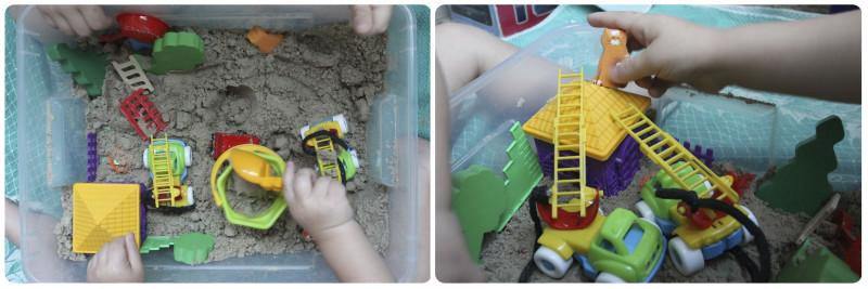 тематические развивающие занятия песок