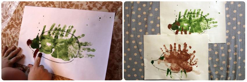 Палочка выручалочка сказки сутеева рисуем ежиков