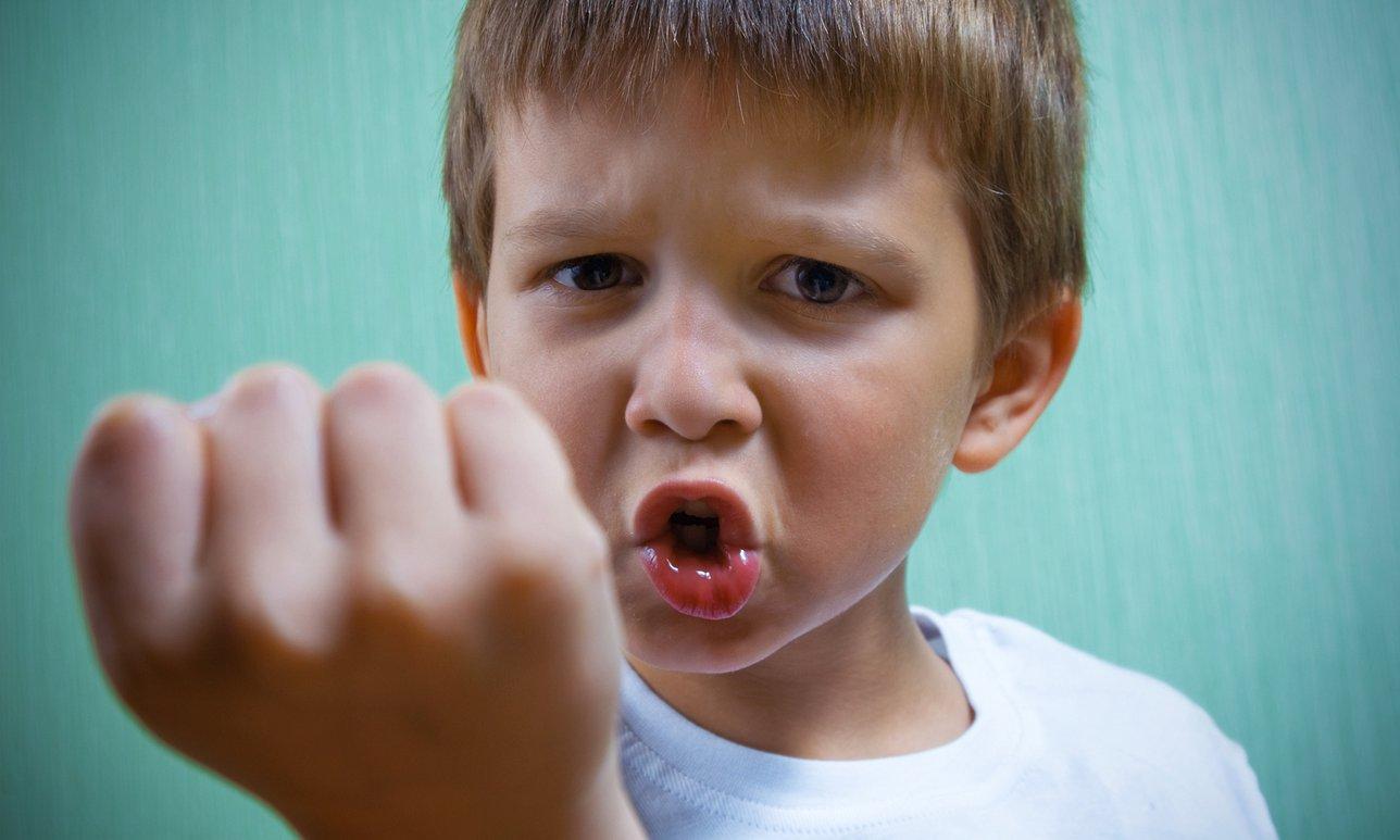 агрессивный ребенок что делать