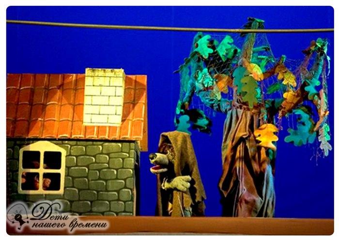 поход в кукольный театр