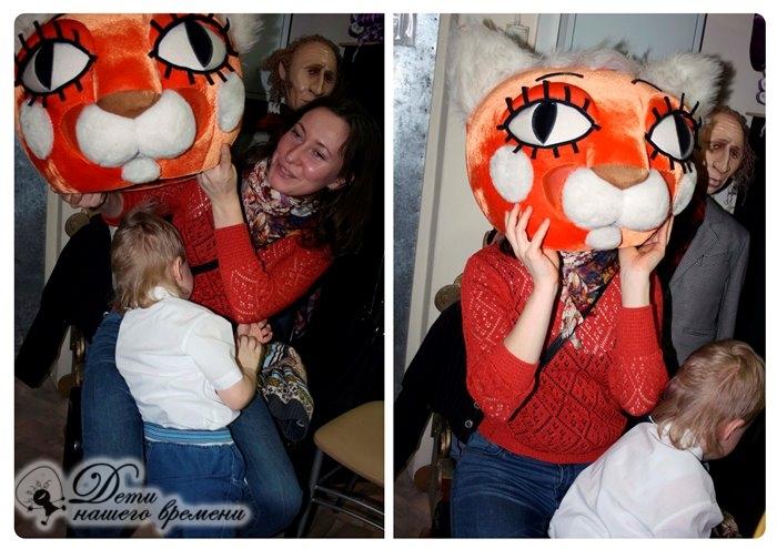 ростовые куклы, тигр