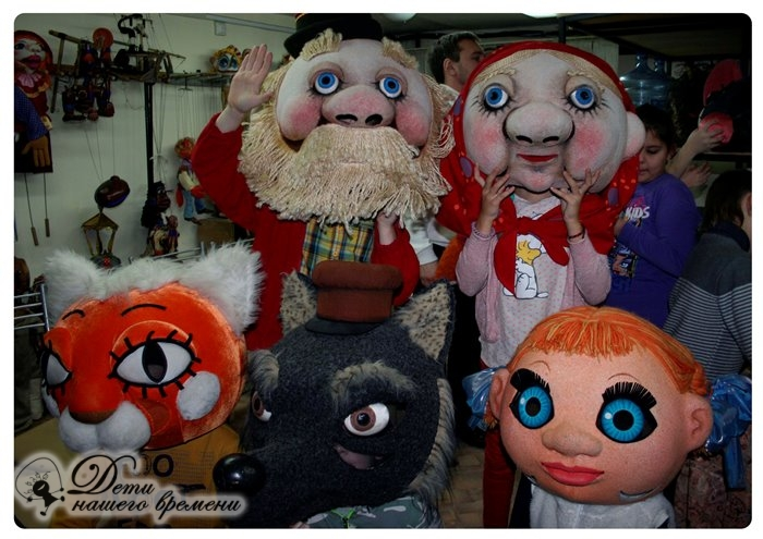 ростовые куклы разные