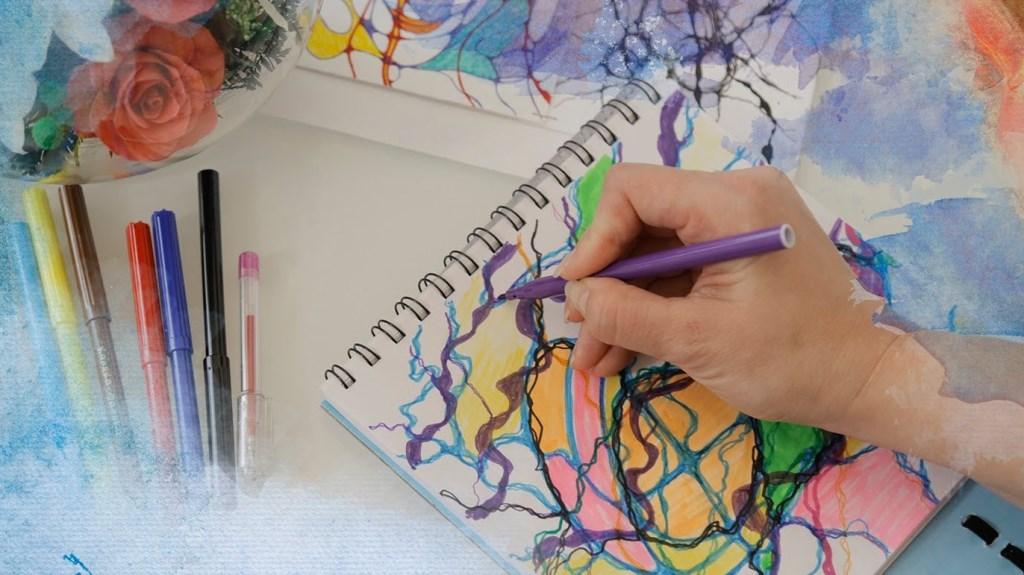 Как справляться с моментами стресса, тревоги, раздражения приемами нейрографики, мастер-класс