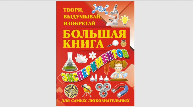 Большая книга экспериментов Гусев