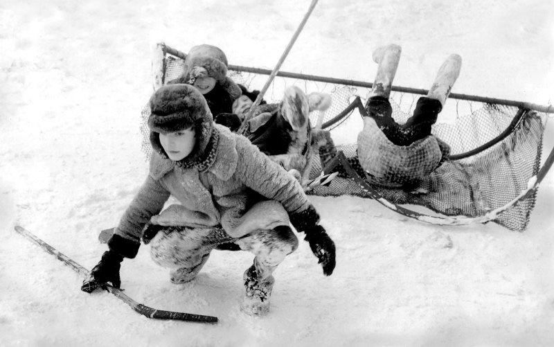 Подвижные игры для зимы