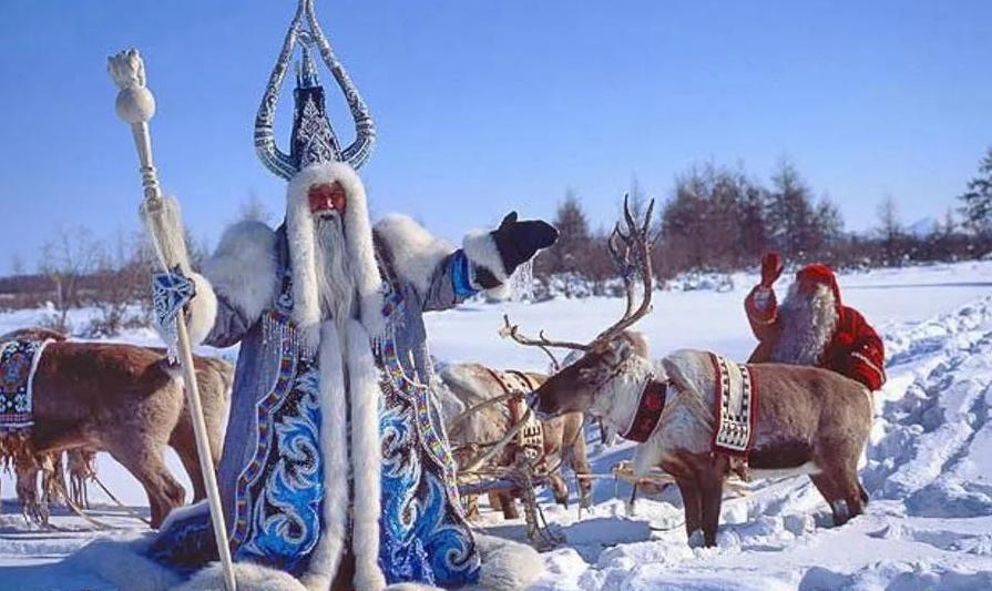 Новогодние обычаи разных народов России