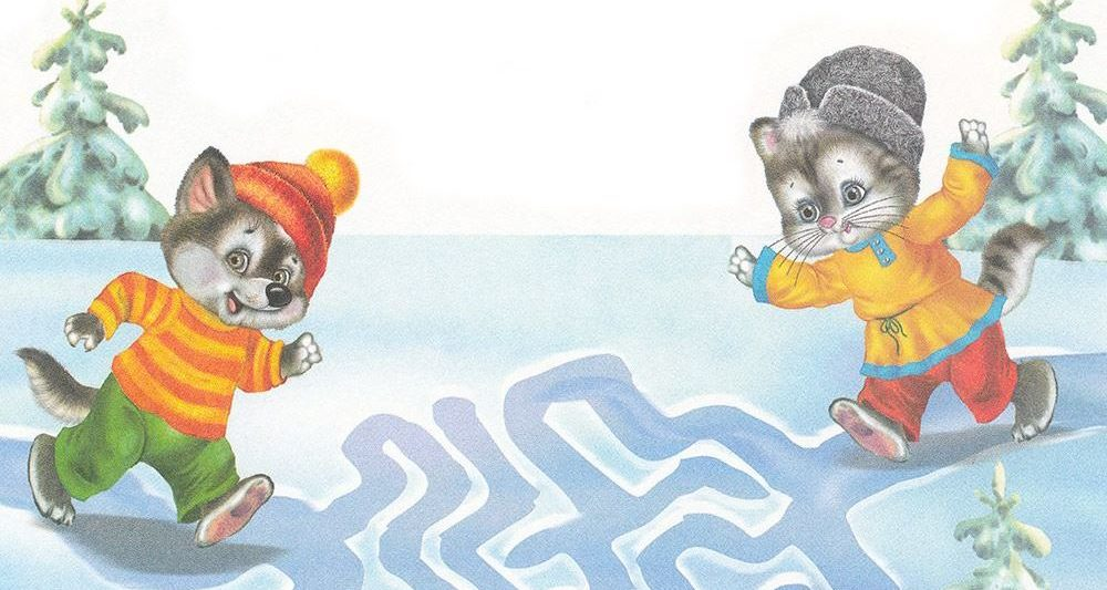 задания зимней тематики для дошкольников
