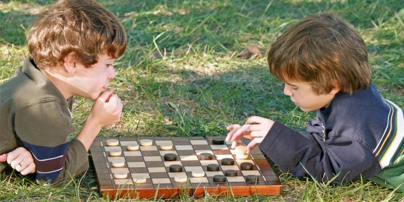 Задачки с шашками