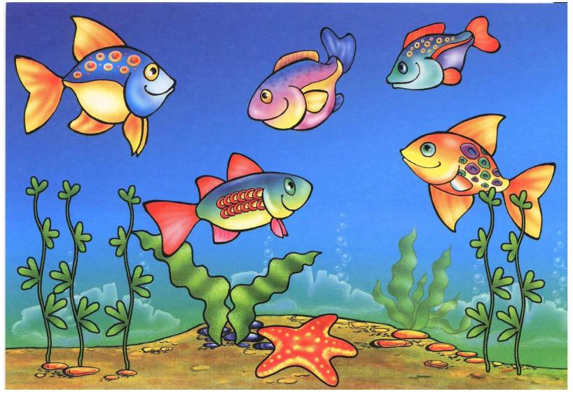 Поймай рыбку - игра на внимание
